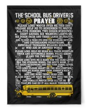 """THE SCHOOL BUS DRIVER'S PRAYER 29.5""""x39.5"""" House Flag front"""