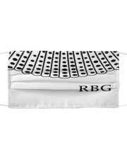 RBG Cloth face mask front