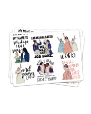 Hamilton Sticker - 4 pack (Horizontal) front