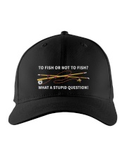 To fish or not to fish Embroidered Hat front