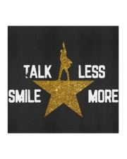 TALK LESS SMILE MORE Cloth face mask aos-face-mask-coverlet-lifestyle-front-02