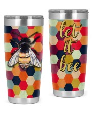 Let it bee 20oz Tumbler front