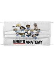 Grey's anatomy Cloth face mask front