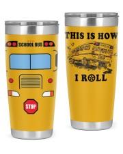 School Bus Drivers 20oz Tumbler front