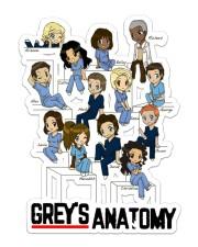Grey's Anatomy Sticker - Single (Vertical) front