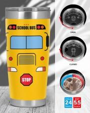 School Bus Drivers 20oz Tumbler aos-20oz-tumbler-lifestyle-front-45