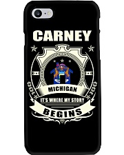 Carney-MI proud perfect Tee Phone Case thumbnail