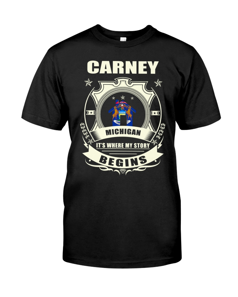 Carney-MI proud perfect Tee Classic T-Shirt