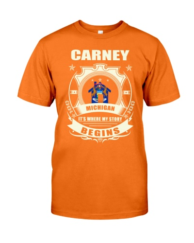 Carney-MI proud perfect Tee