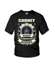 Carney-MI proud perfect Tee Youth T-Shirt thumbnail
