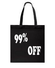 I Love Black Friday Tote Bag back