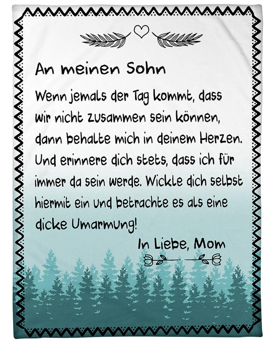 "Sohn - Mom Large Fleece Blanket - 60"" x 80"""