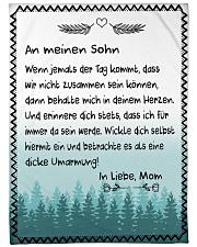 """Sohn - Mom Large Fleece Blanket - 60"""" x 80"""" front"""