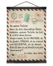Tochter - Vater - WW 12x16 Black Hanging Canvas thumbnail