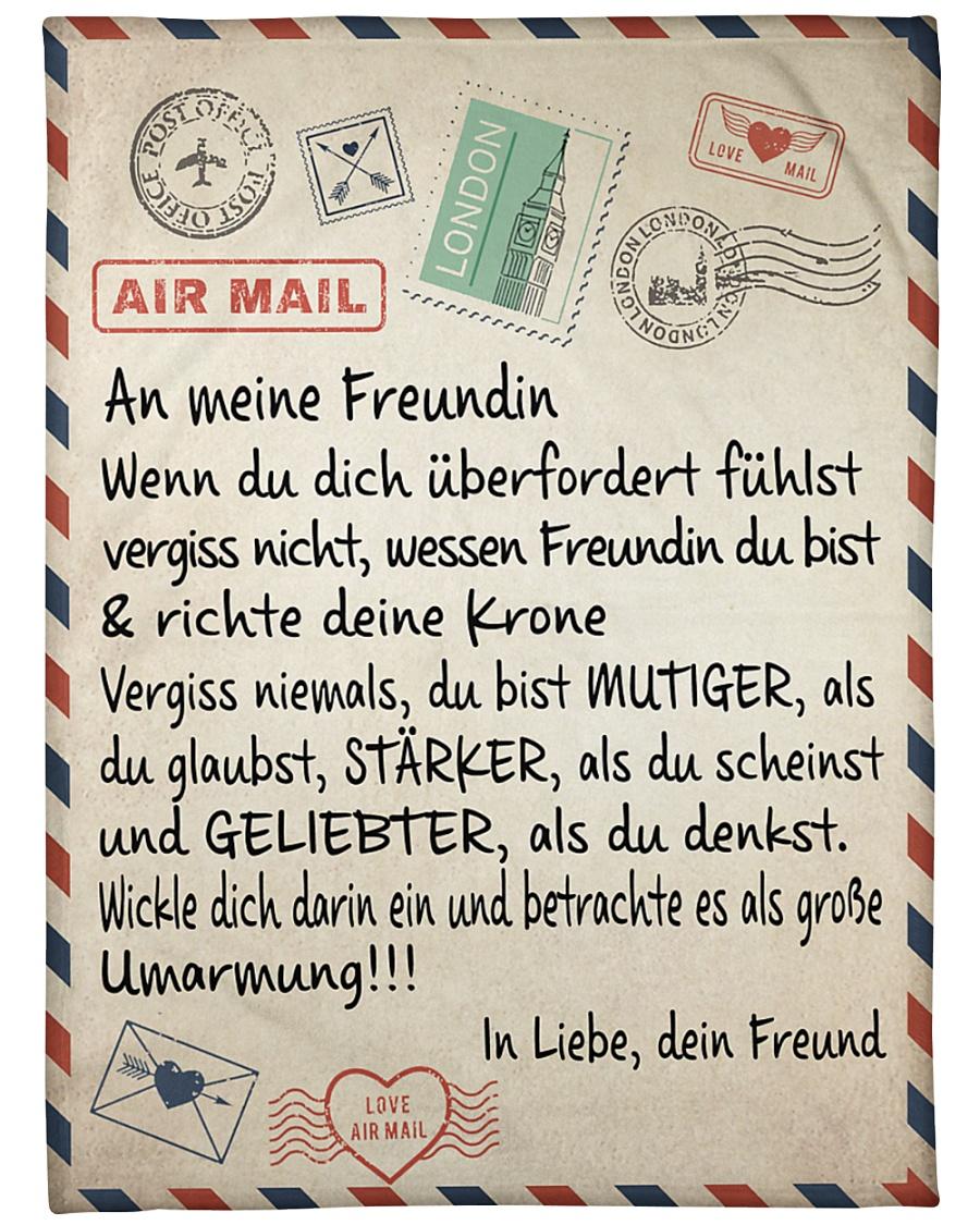 "Freundin - Freund Large Fleece Blanket - 60"" x 80"""