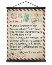 Schwiegertochter - Schwiegermutter 12x16 Black Hanging Canvas thumbnail