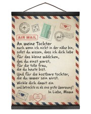 Tochter - Mama Hanging Canvas tile