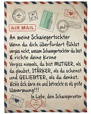 "Schwiegertochter - Schwiegervater Large Fleece Blanket - 60"" x 80"" front"