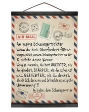 Schwiegertochter - Schwiegervater 12x16 Black Hanging Canvas thumbnail
