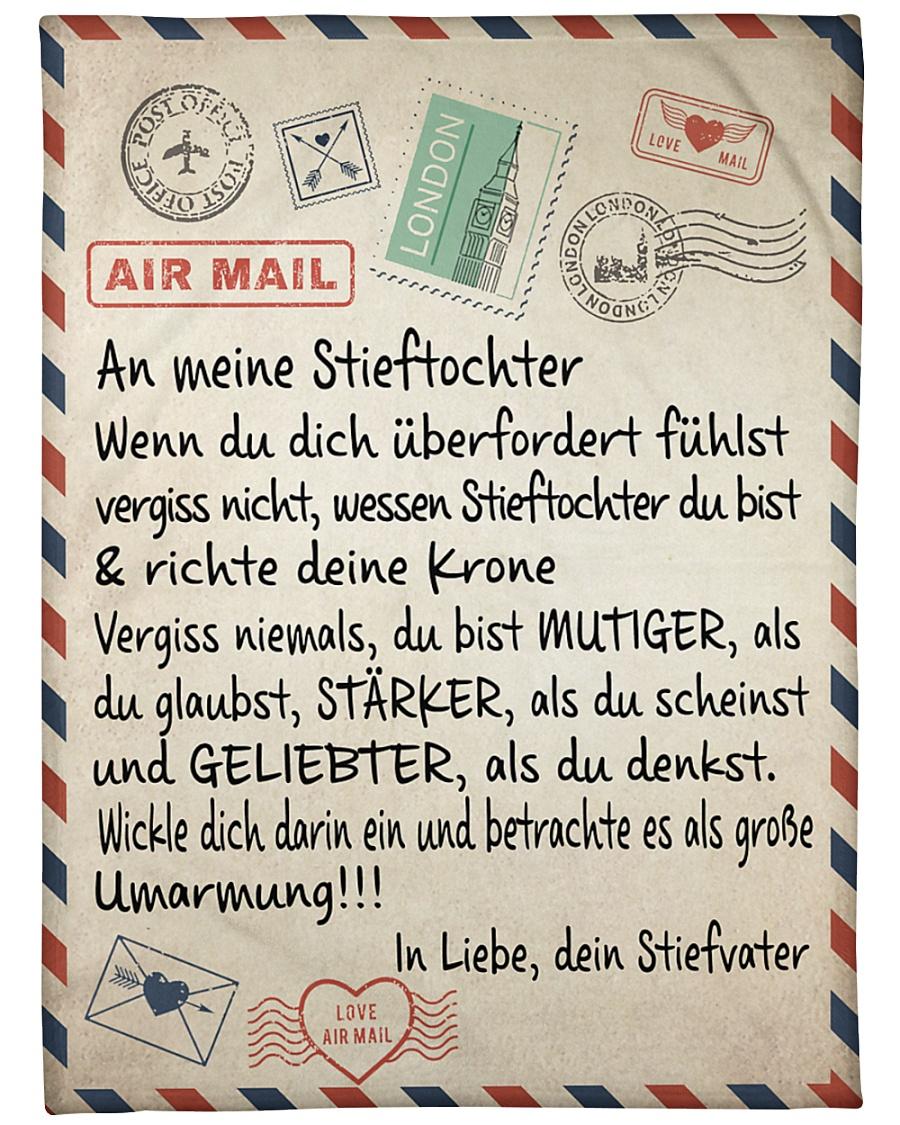 "Stieftochter - Stiefvater Large Fleece Blanket - 60"" x 80"""