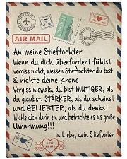 """Stieftochter - Stiefvater Large Fleece Blanket - 60"""" x 80"""" front"""