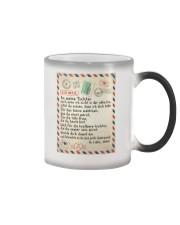 Tochter - Vater Color Changing Mug tile