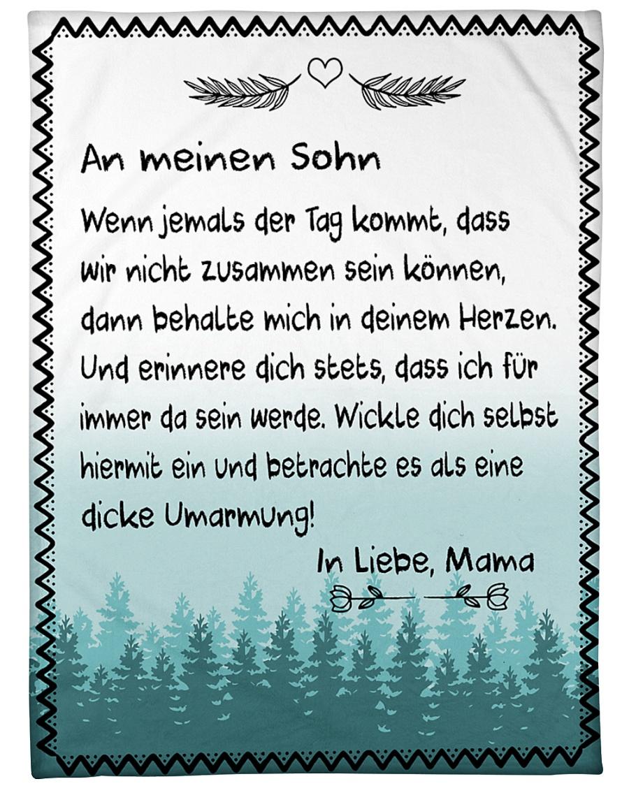 "Sohn - Mama Large Fleece Blanket - 60"" x 80"""