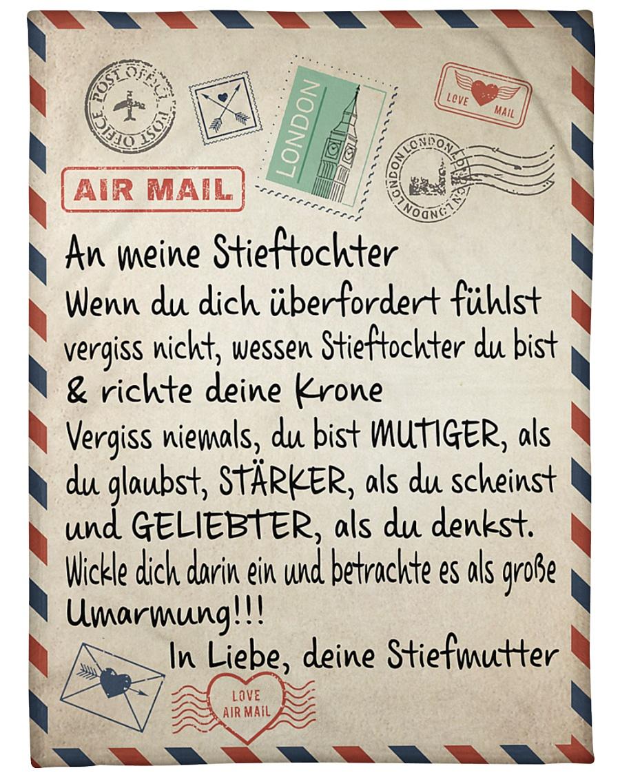 "Stieftochter - Stiefmutter Large Fleece Blanket - 60"" x 80"""