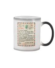 Enkelin - Opa Color Changing Mug tile