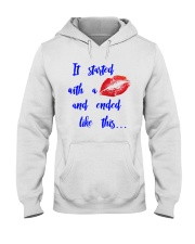 Funny shirt for pregnant woman- maternity dress Hooded Sweatshirt thumbnail