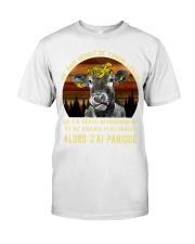 cow mug - I'm sorry I licked you french vs Classic T-Shirt thumbnail