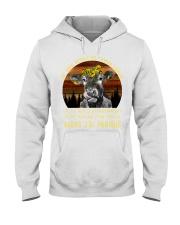 cow mug - I'm sorry I licked you french vs Hooded Sweatshirt thumbnail