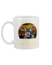 cow mug - I'm sorry I licked you french vs Mug back