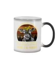 cow mug - I'm sorry I licked you french vs Color Changing Mug thumbnail