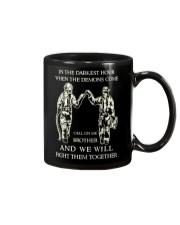 Call On Me Brother Mug front