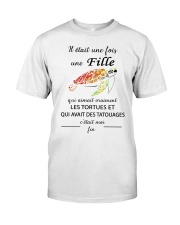 turtle T-shirt - once upon a time Classic T-Shirt thumbnail