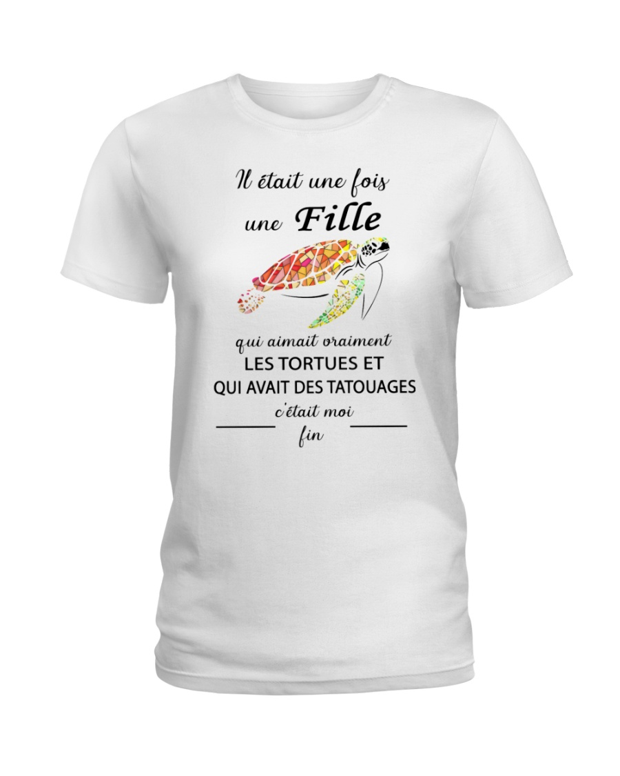 turtle T-shirt - once upon a time Ladies T-Shirt