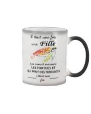 turtle T-shirt - once upon a time Color Changing Mug thumbnail