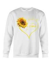sunflower T-shirt - being a Nana german vs Crewneck Sweatshirt thumbnail