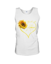 sunflower T-shirt - being a Nana german vs Unisex Tank thumbnail