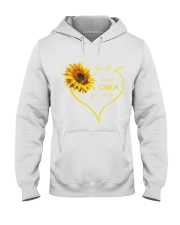 sunflower T-shirt - being a Nana german vs Hooded Sweatshirt thumbnail