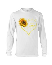 sunflower T-shirt - being a Nana german vs Long Sleeve Tee thumbnail