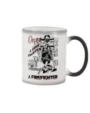 Always a firefighter Color Changing Mug thumbnail