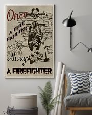 Always a firefighter 11x17 Poster lifestyle-poster-1