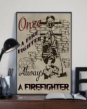 Always a firefighter 11x17 Poster lifestyle-poster-2