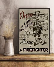 Always a firefighter 11x17 Poster lifestyle-poster-3