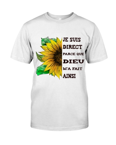 sunflower T-shirt - I'm blunt