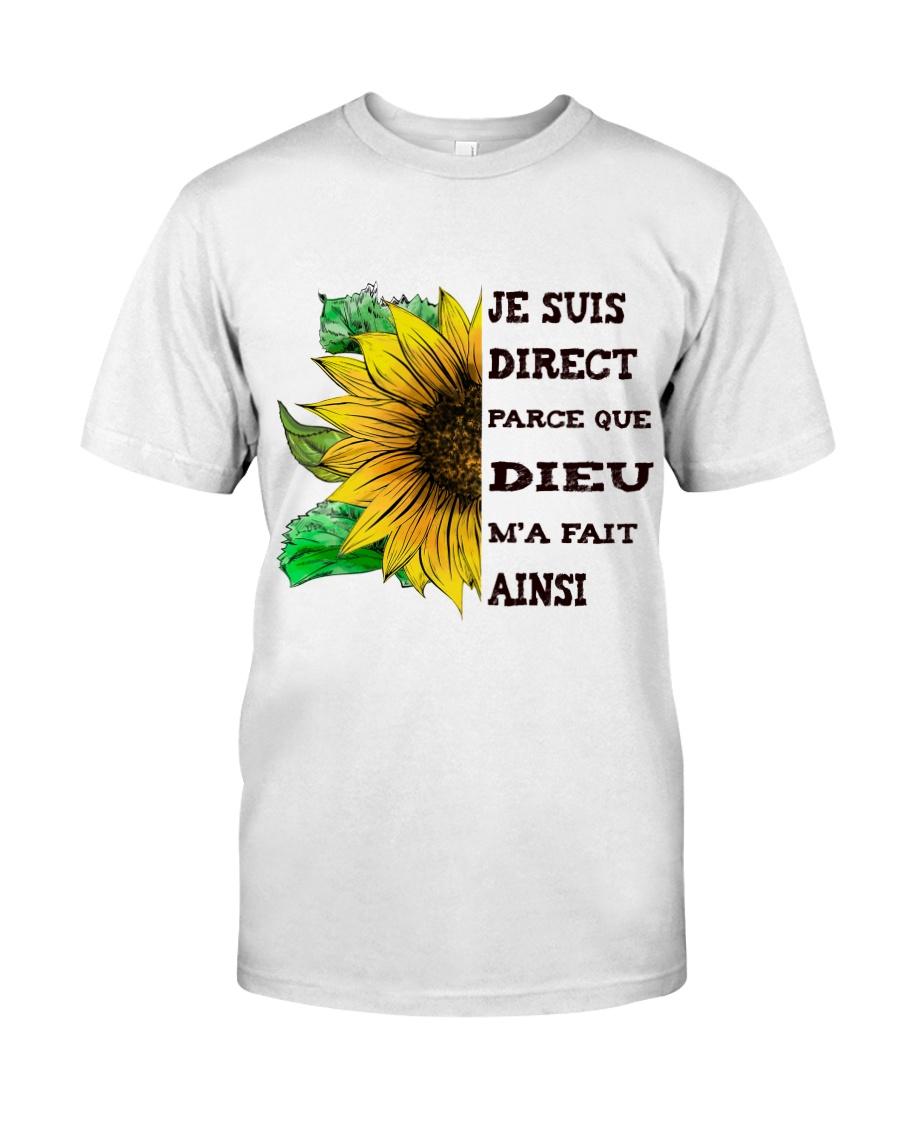 sunflower T-shirt - I'm blunt Classic T-Shirt