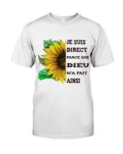 sunflower T-shirt - I'm blunt Classic T-Shirt front