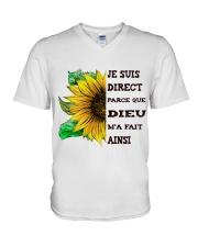 sunflower T-shirt - I'm blunt V-Neck T-Shirt thumbnail